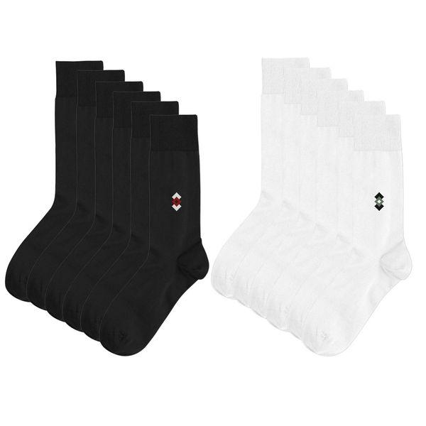 جوراب مردانه پاتریس مدل 101 بسته 12 عددی