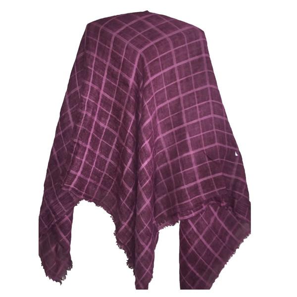 روسری میس اسمارت طرح چهارخانه کد 94