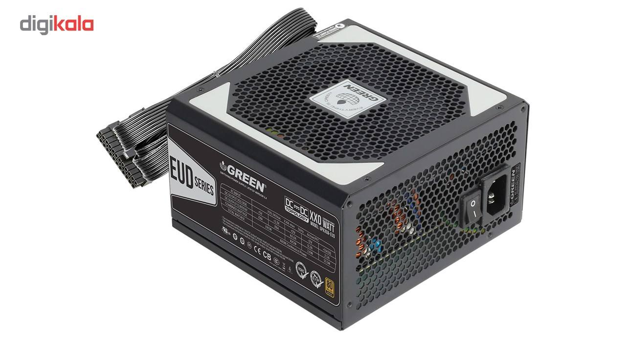 منبع تغذیه کامپیوتر گرین مدل GP480A-EUD main 1 2