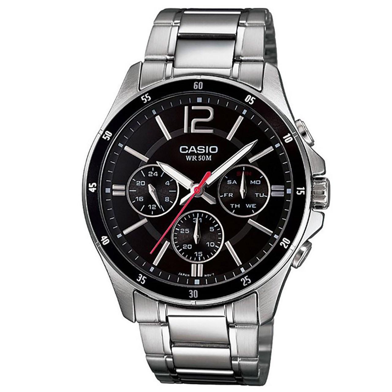 ساعت  کاسیو مدل MTP-1374D-1AVDF