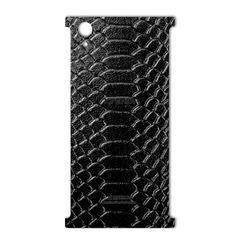برچسب تزئینی ماهوت مدل Snake Leather مناسب برای گوشی  Sony Xperia XA1 Plus