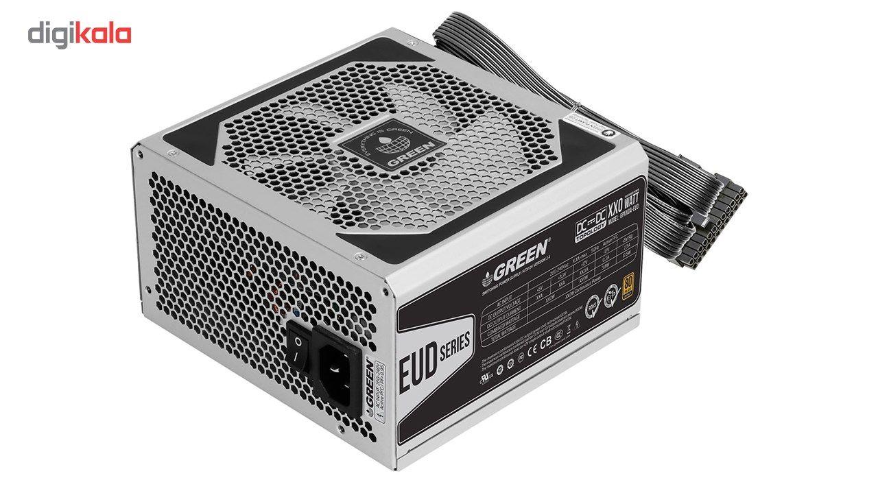 منبع تغذیه کامپیوتر گرین مدل GP330A-EUD main 1 1