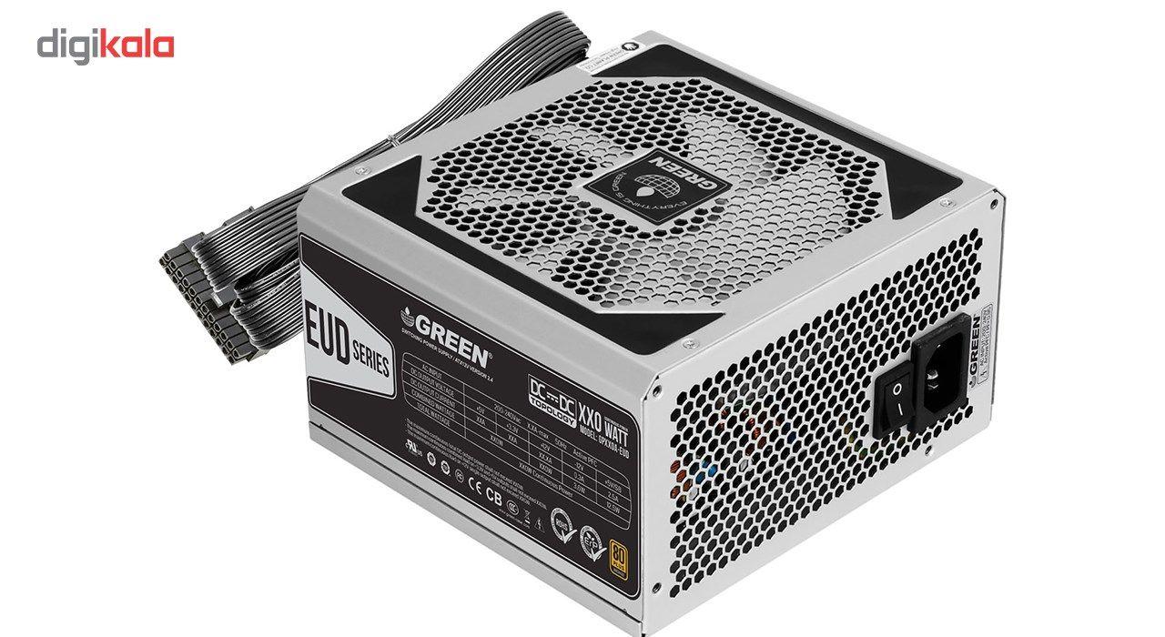 منبع تغذیه کامپیوتر گرین مدل GP330A-EUD main 1 2