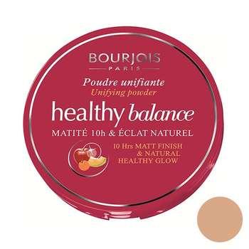 پنکیک بژ تیره بورژوآ مدل Healthy Balance Powder 55