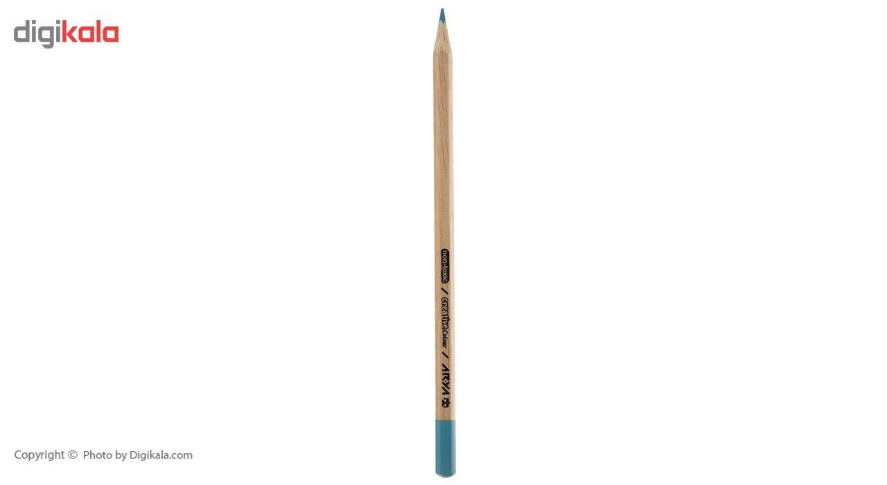 مداد رنگی 12+3 رنگ آریا مدل 3021 main 1 5
