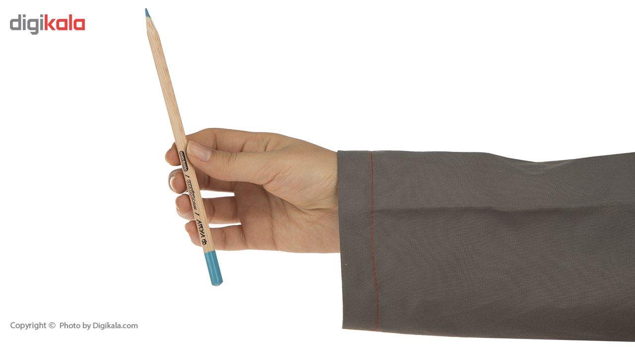 مداد رنگی 12+3 رنگ آریا مدل 3021 main 1 6