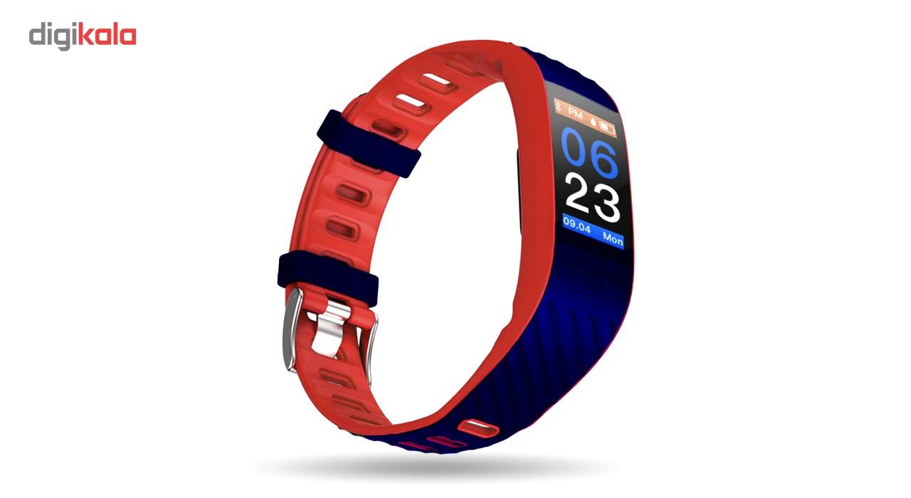 مچ بند هوشمند فیدوگجت مدل Oled Touch Red
