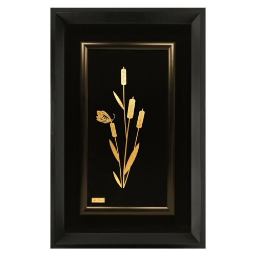 تابلو مارک گلد مدل گل مرداب
