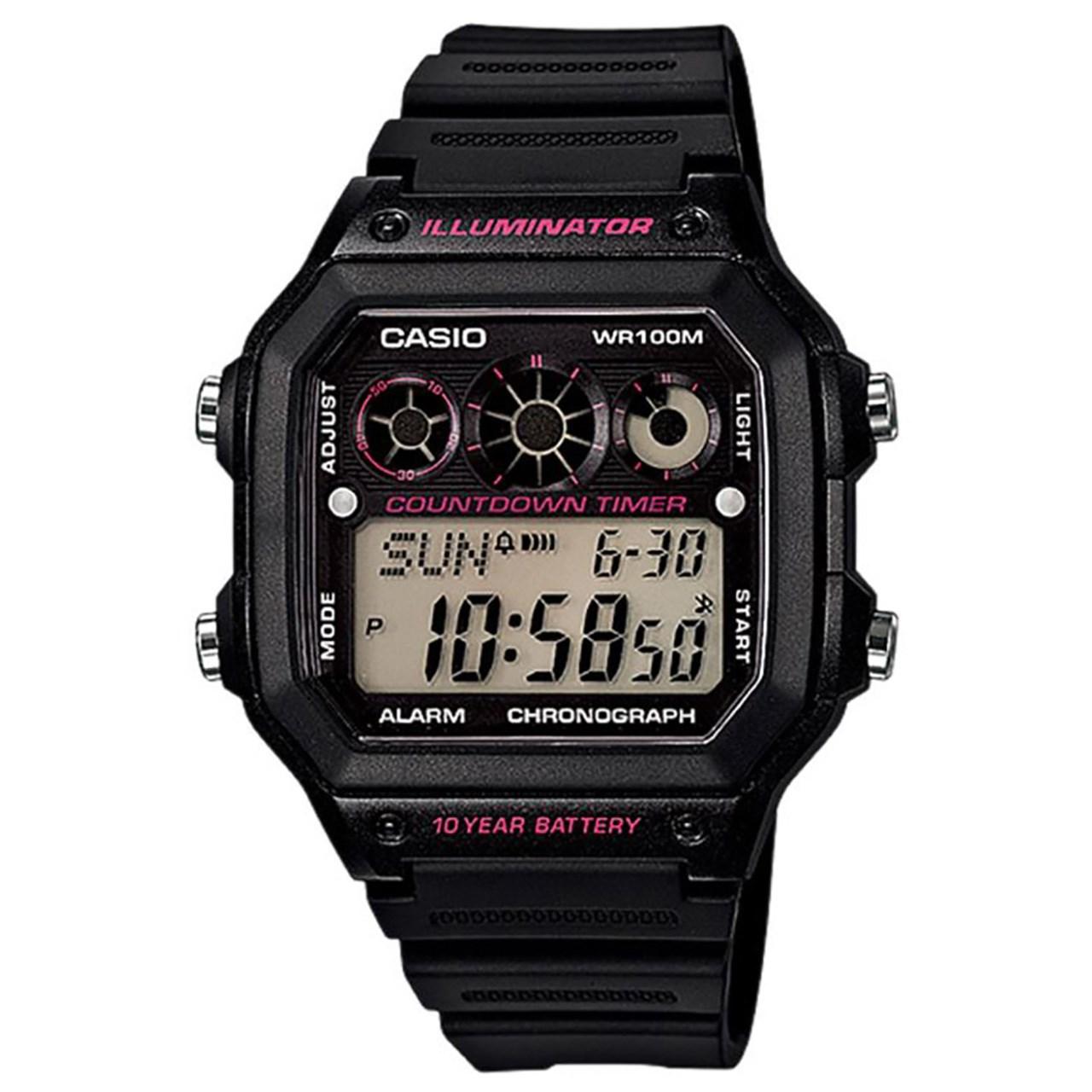 ساعت مچی دیجیتال کاسیو مدل AE-1300WH-1A2VDF              اصل