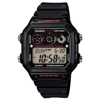 ساعت مچی دیجیتال کاسیو مدل AE-1300WH-1A2VDF