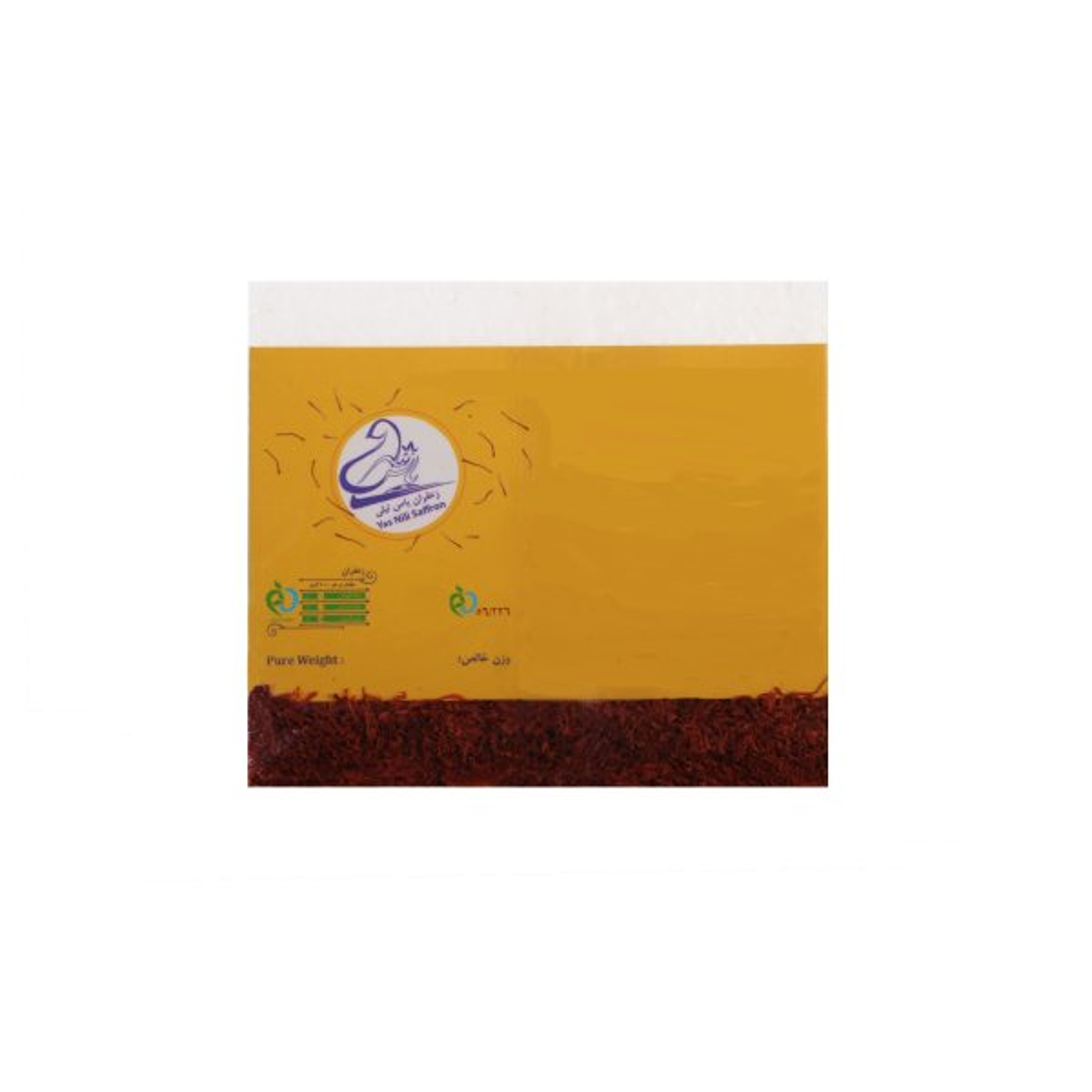 زعفران سرگل یاس نیلی - 1 گرم