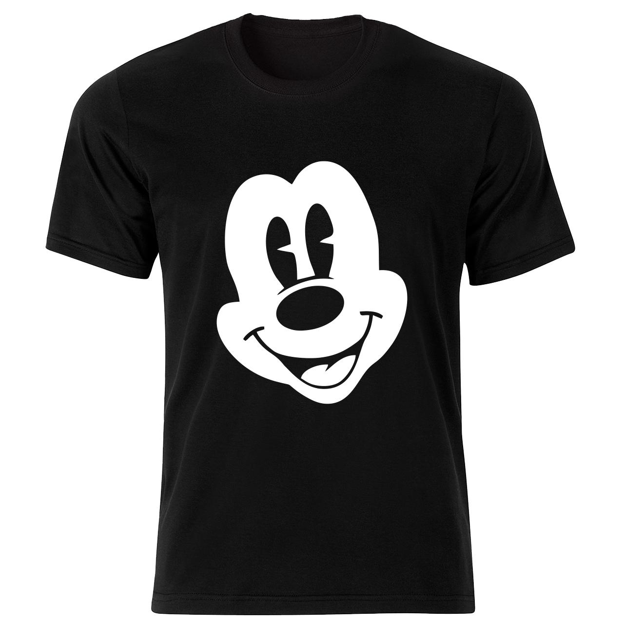 تی شرت آستین کوتاه مردانه طرح میکی موس کد 34397