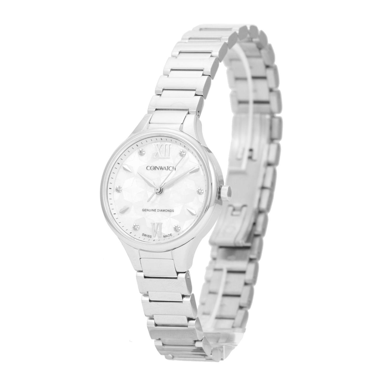 خرید و قیمت                      ساعت مچی  زنانه کوین واچ مدل C194SWH