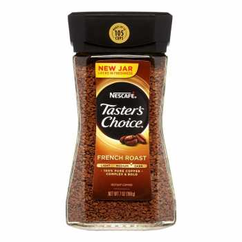 قوطی قهوه فوری تستر چویس مدل فرنچ روست 198 گرمی