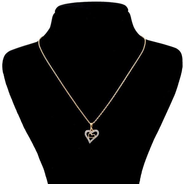گردنبند ژوپینگ مدل دو قلب