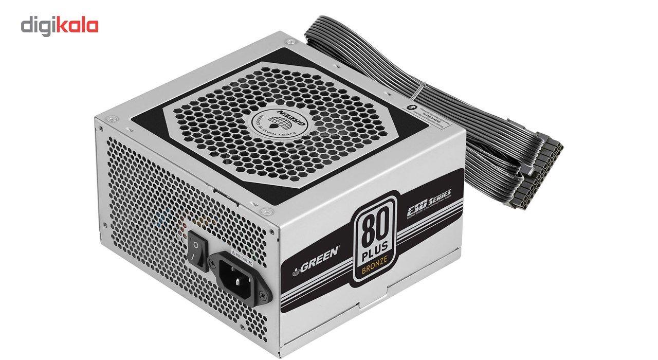 منبع تغذیه کامپیوتر گرین مدل GP330A-ESD main 1 1
