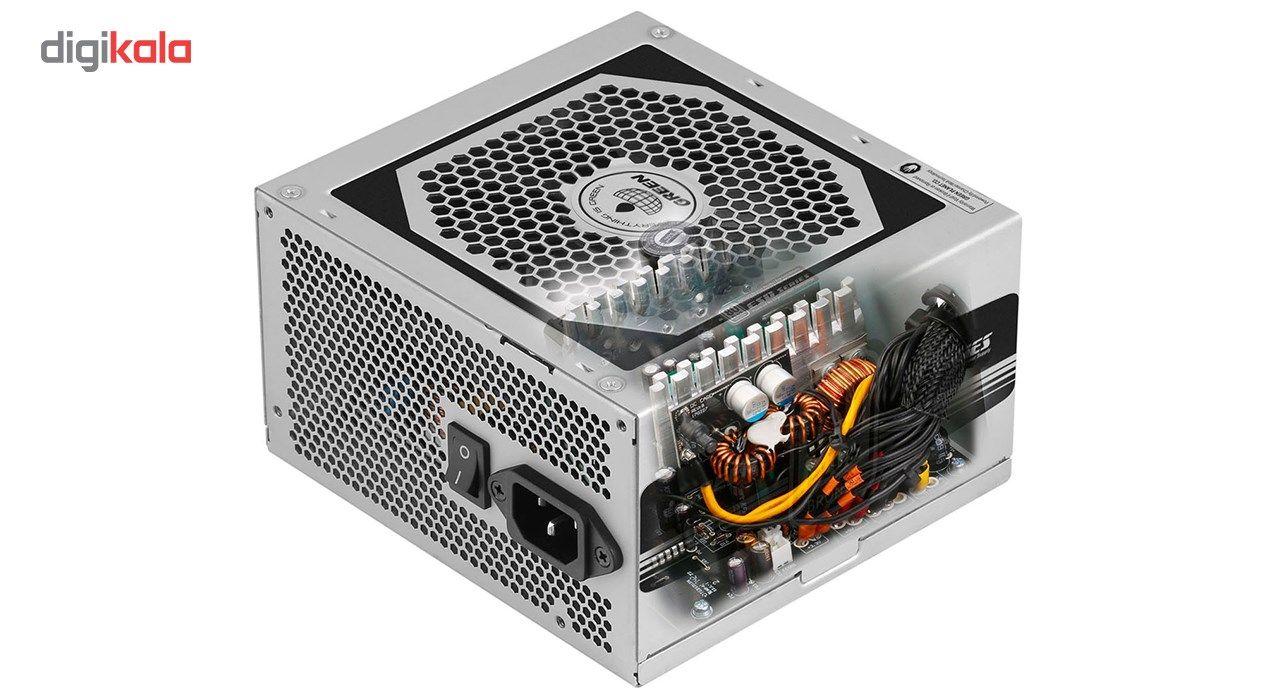 منبع تغذیه کامپیوتر گرین مدل GP330A-ESD main 1 2