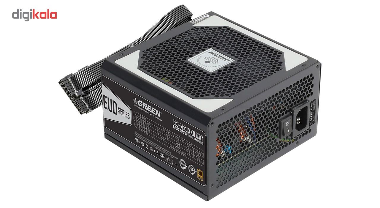 منبع تغذیه کامپیوتر گرین مدل GP530A-EUD main 1 2
