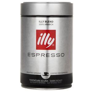 پودر قهوه دارک رست اسپرسو ایلی مقدار 250 گرم
