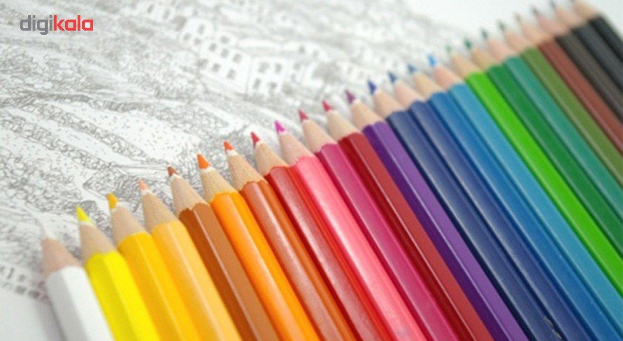 مداد رنگی 12 رنگ استدلر مدل Noris Club main 1 4