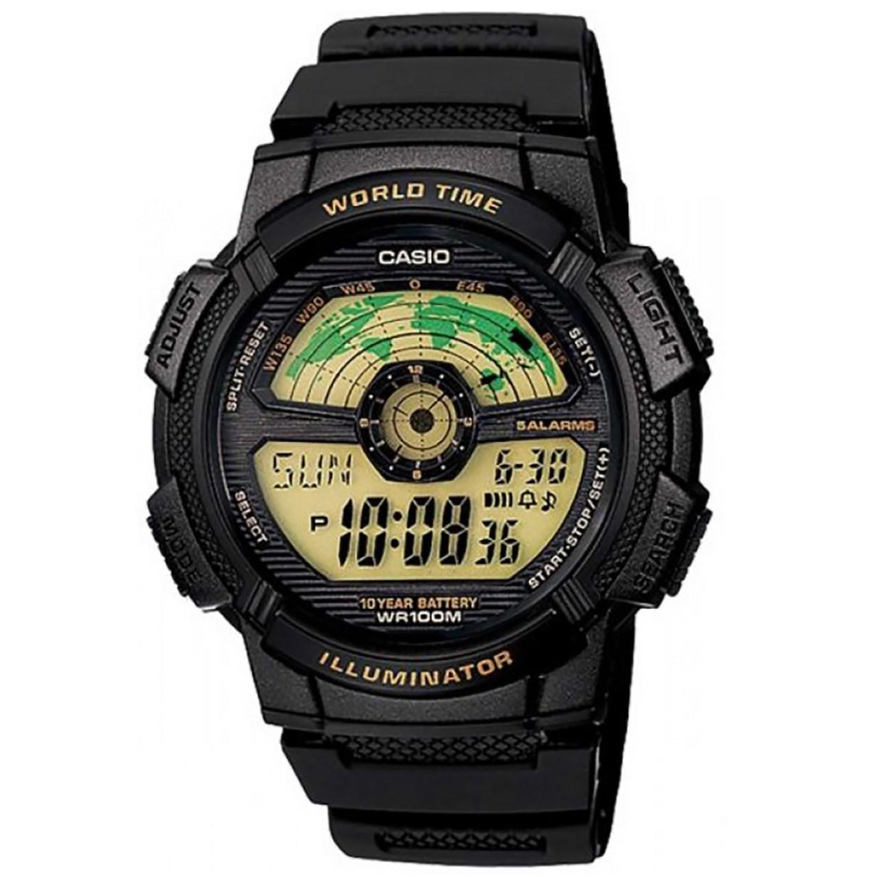 ساعت مچی دیجیتالی  کاسیو مدل AE-1100W-1BVDF