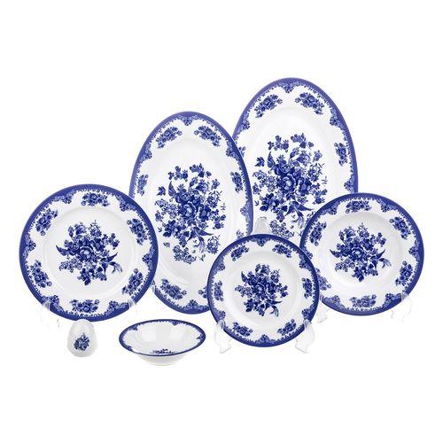 سرویس غذاخوری 28 پارچه چینی زرین ایران سری ایتالیا اف مدل Florance 2 درجه یک