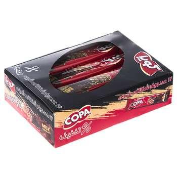 ویفر با روکش شکلات شیری کوپا بسته 12 عددی