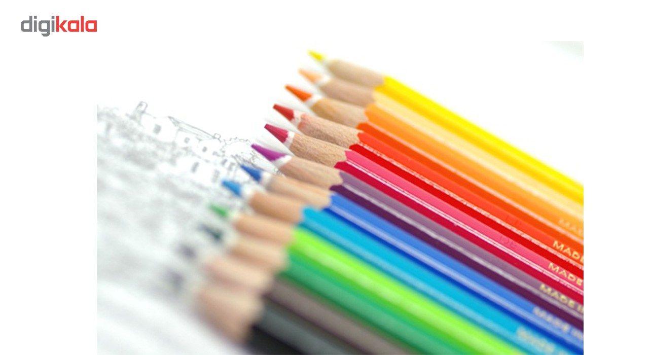 مداد رنگی 12 رنگ استدلر مدل Noris Club main 1 6