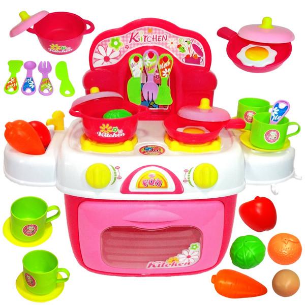 اسباب بازی ست آشپزخانه ژیونگ چنگ مدل Kids Kitchen 008-87A
