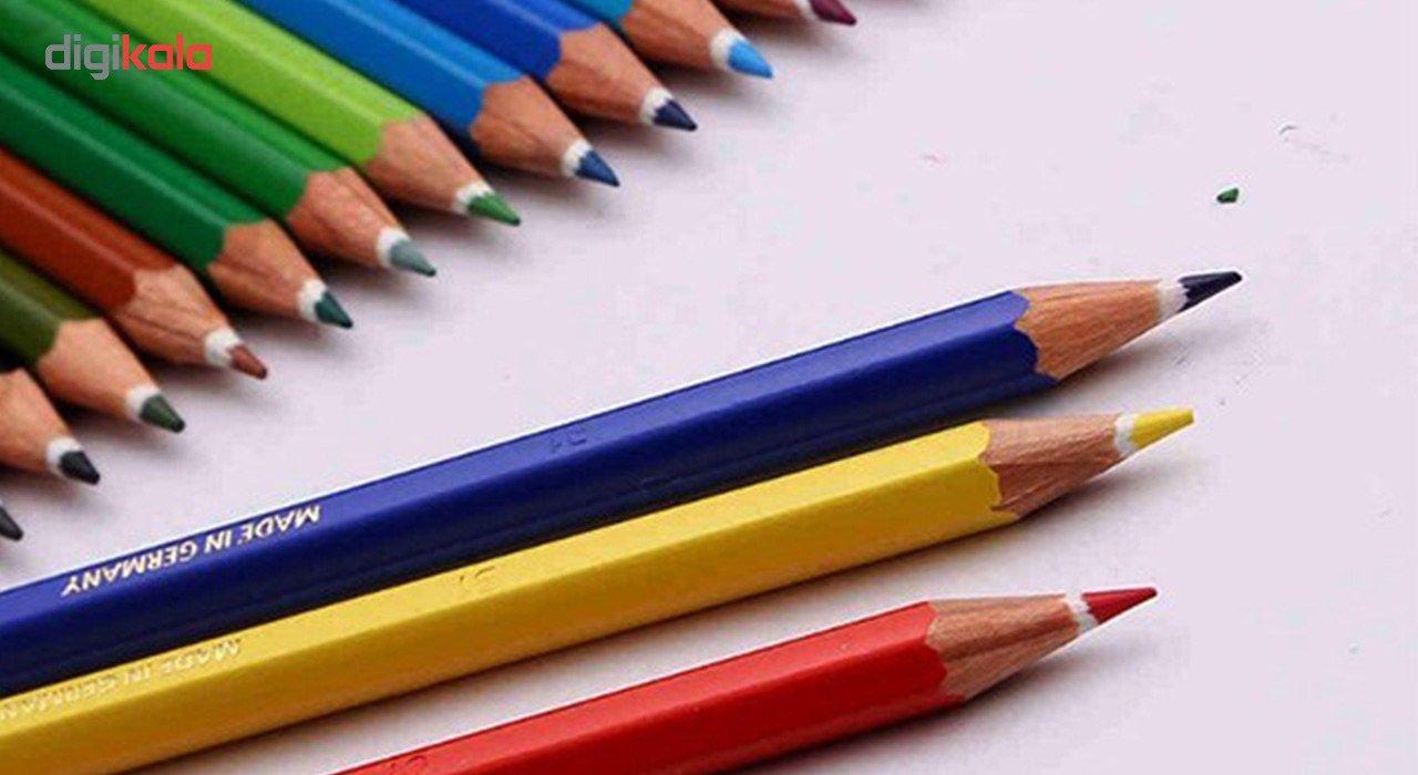 مداد رنگی 12 رنگ استدلر مدل Noris Club main 1 7