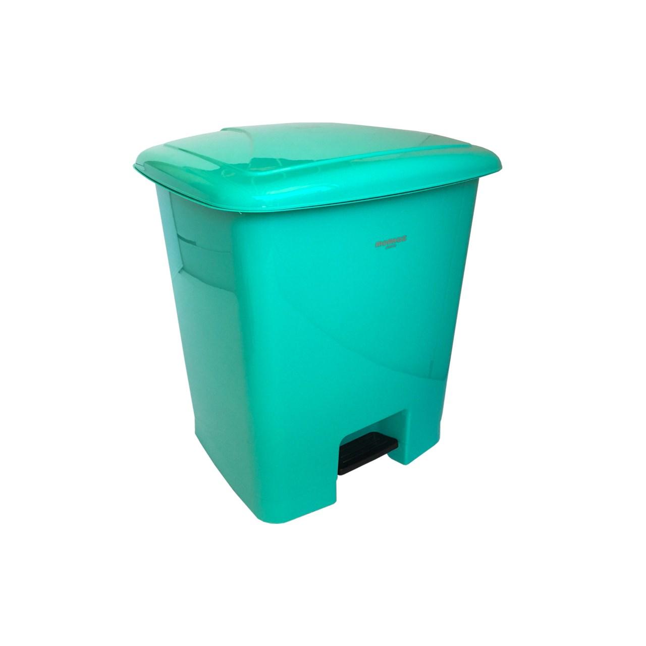 سطل زباله پدالی ممتاز پلاستیک مدل 750 ظرفیت 52 لیتری