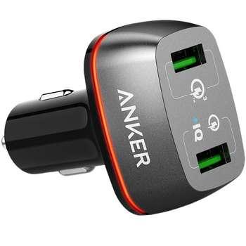 شارژر فندکی انکر مدل A2224 به همراه تکنولوژی شارژ سریع
