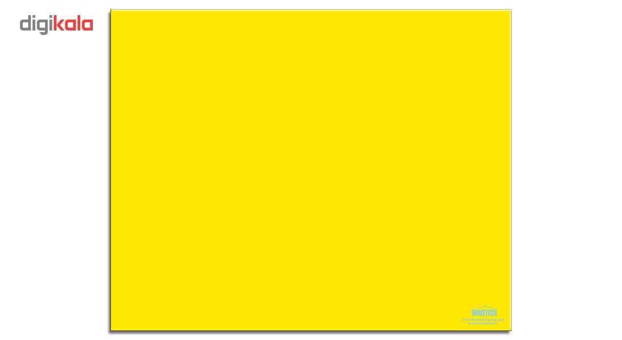 تخته وایت برد شیشه ای هوم تک مدل Color Board سایز 70 × 90 سانتیمتر