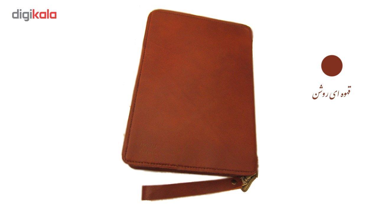 کیف دستی مدیریتی  چرم طبیعی دستدوز مژی مدل MSH main 1 5