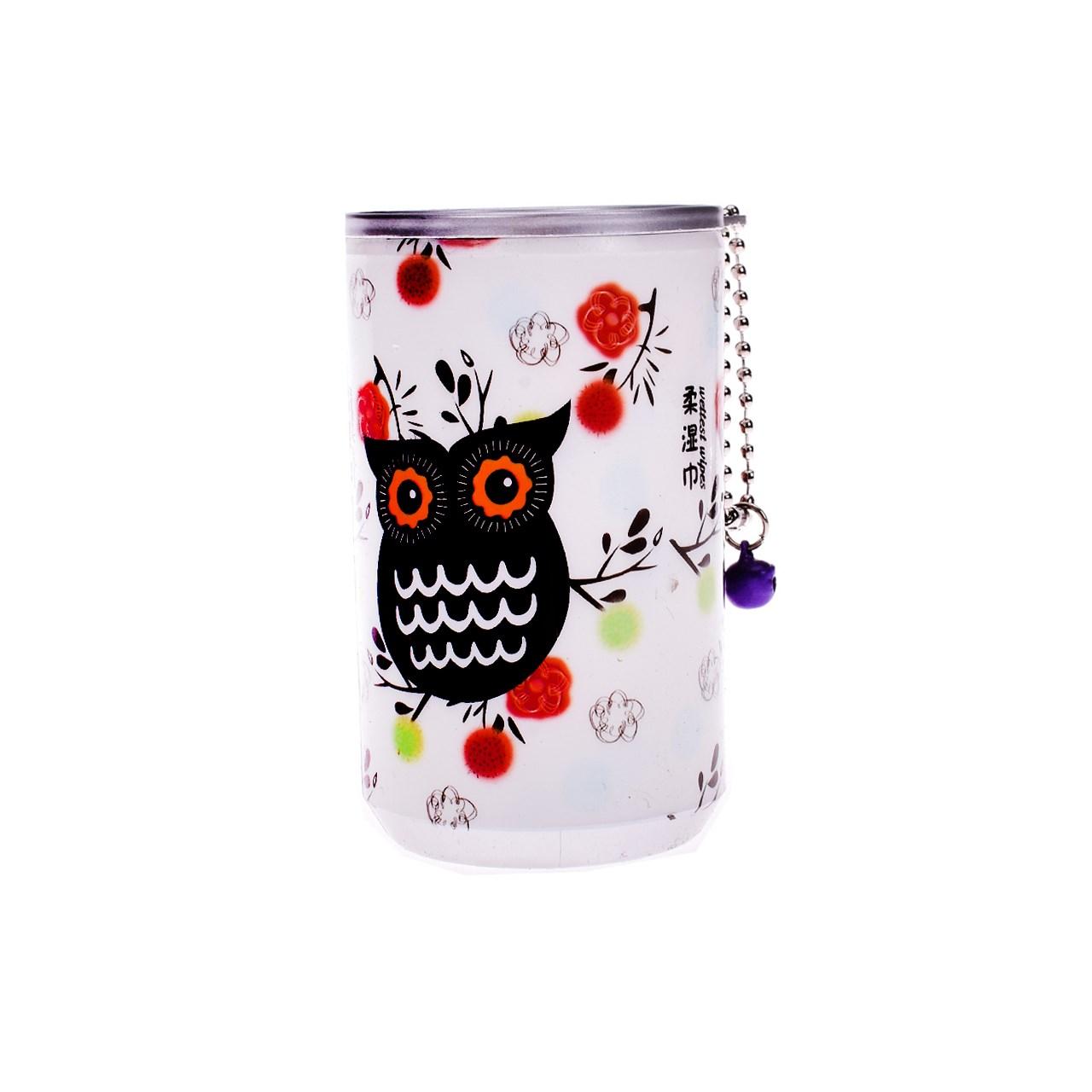 دستمال مرطوب ترانه مدل owl 4 بسته 30 عددی