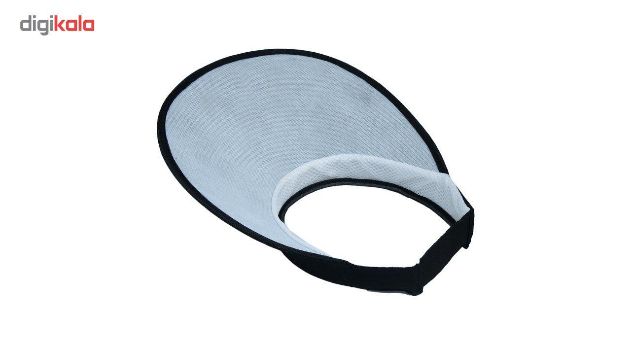 کلاه آفتابگیر کوه شاپ مدل تل کش دار main 1 4