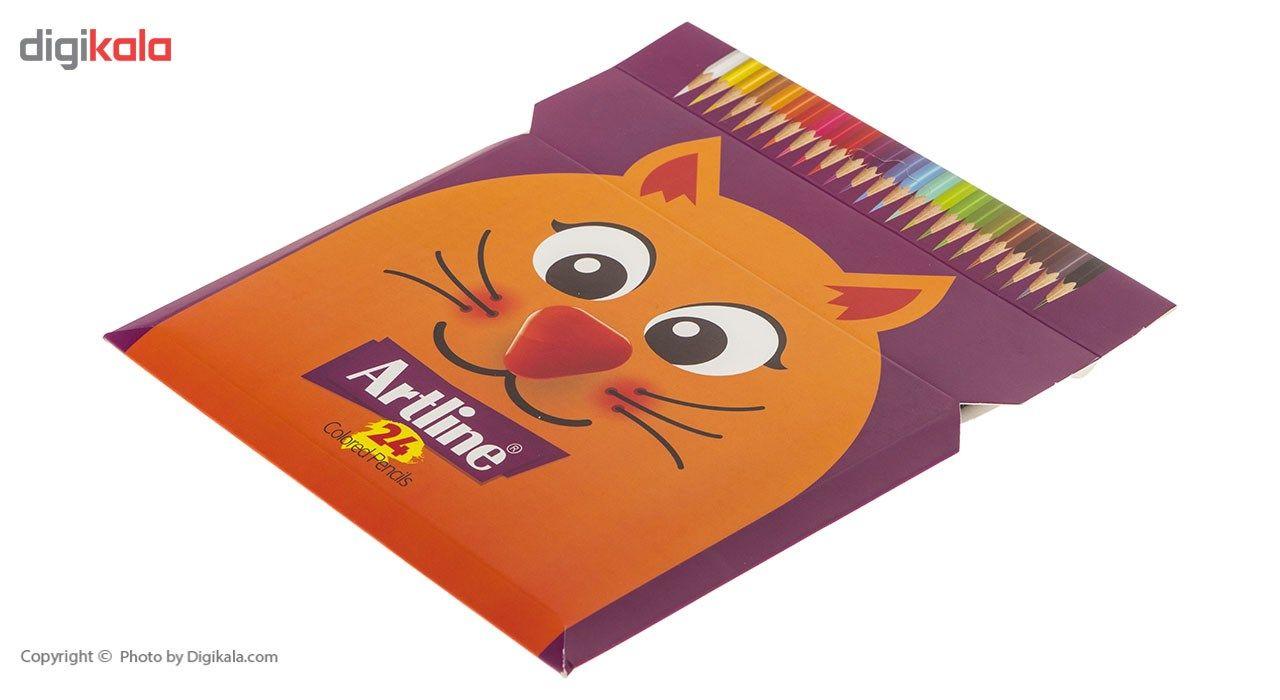مداد رنگی 24 رنگ آرت لاین مدل ECP24PIL main 1 2