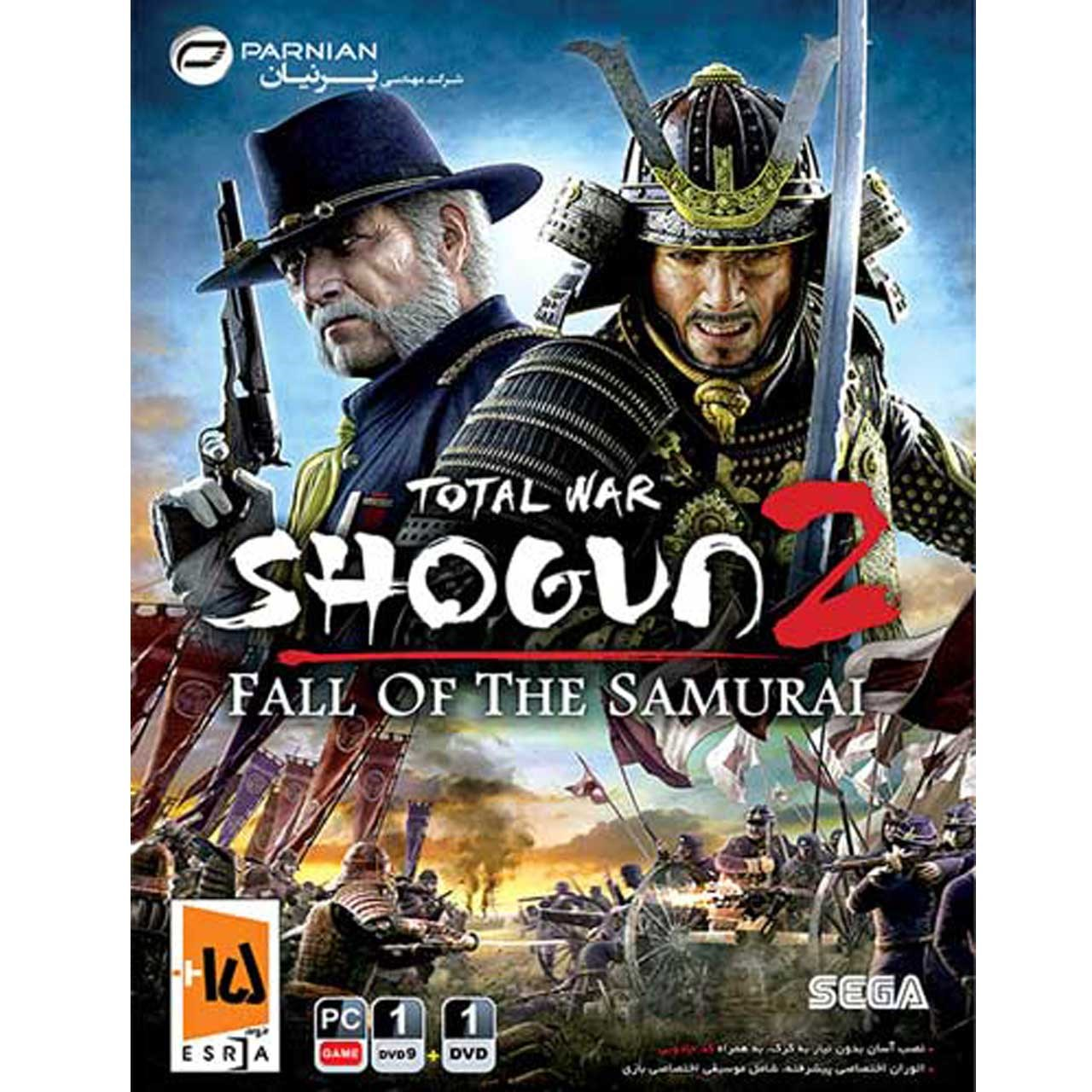 بازی کامپیوتری سقوط سامورایی ها Total War Shogun 2 Fall of The Samurai مخصوص PC