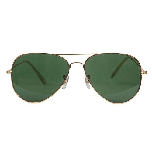 عینک آفتابی خلبانی شیشه ای یو وی 400 تیتانیوم مدلSun 3509
