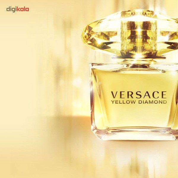5e6221648 مشخصات، قیمت و خرید ادو تویلت زنانه ورساچه مدل Yellow Diamond حجم 90 ...