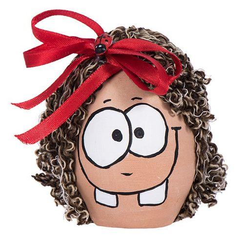 تخم مرغ رنگی هفت سین طرح خانوم دندونی