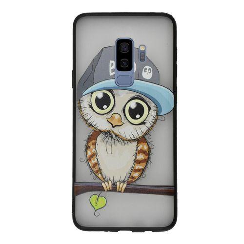 کاور سخت دور ژله ای کنزو مدل Bad Owl  مناسب برای گلکسی S9 پلاس