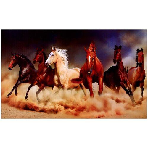 پازل 1000 تکه ترنم طرح اسب های صحرا به همراه یک عدد کیسه پازل ravensburger