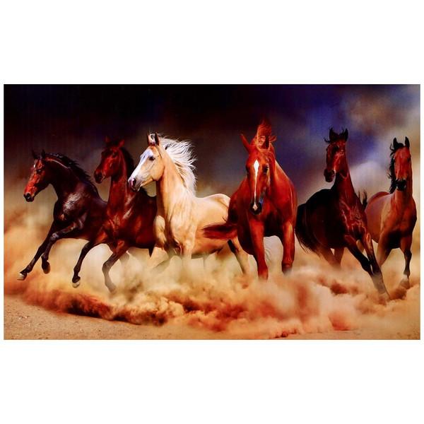 پازل 1000 تکه ترنم طرح اسب های صحرا