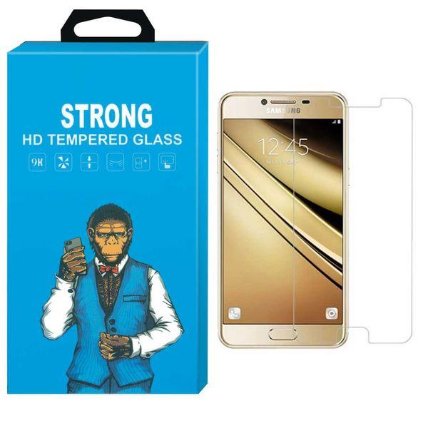 محافظ صفحه نمایش گوشی شیشه ای مانکی مدل Strong مناسب برای گوشی  سامسونگ گلکسی C7