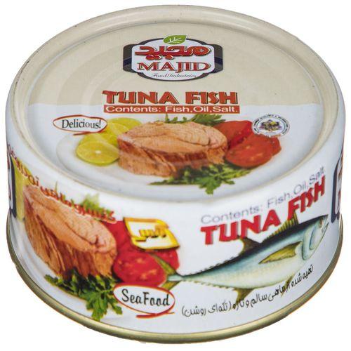 کنسرو ماهی تن مجید مقدار 180 گرم