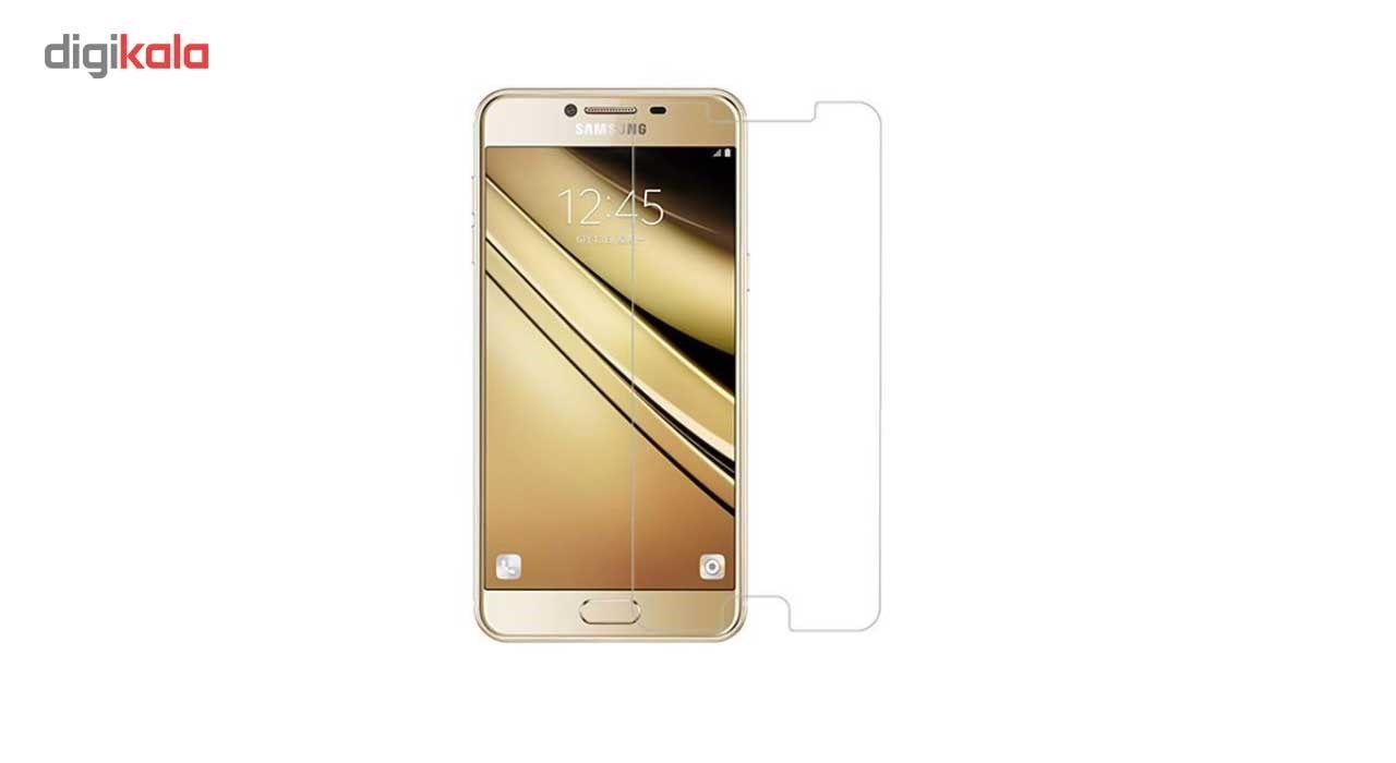 محافظ صفحه نمایش گوشی شیشه ای مانکی مدل Strong مناسب برای گوشی  سامسونگ گلکسی C7 main 1 2