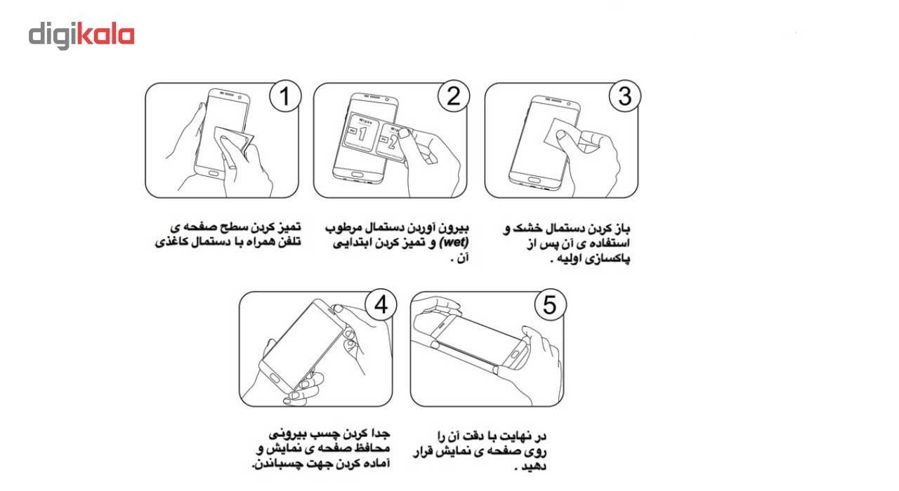 محافظ صفحه نمایش گوشی شیشه ای مانکی مدل Strong مناسب برای گوشی  سامسونگ گلکسی C7 main 1 3