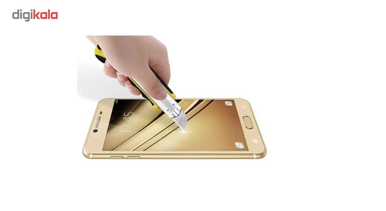 محافظ صفحه نمایش گوشی شیشه ای مانکی مدل Strong مناسب برای گوشی  سامسونگ گلکسی C7 main 1 5