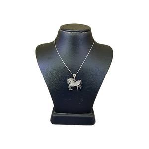 گردنبند نقره دخترانه طرح پونی کد 11421